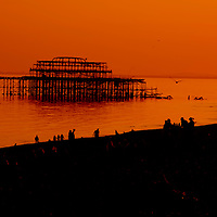 Brighton West Pier East Sussex England