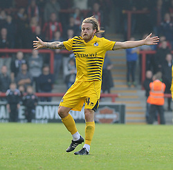 Stuart Sinclair of Bristol Rovers - Mandatory byline: Neil Brookman/JMP - 07966 386802 - 03/10/2015 - FOOTBALL - Globe Arena - Morecambe, England - Morecambe FC v Bristol Rovers - Sky Bet League Two