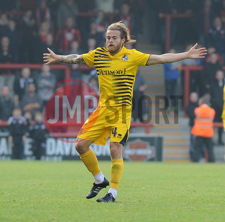 Stuart Sinclair of Bristol Rovers - Mandatory byline: Neil Brookman/JMP - 07966 386802 - 03/10/2015 - FOOTBALL - Globe Arena - Morecambe, England - Morecambe FC v Bristol Rovers - Sky Bet League Two