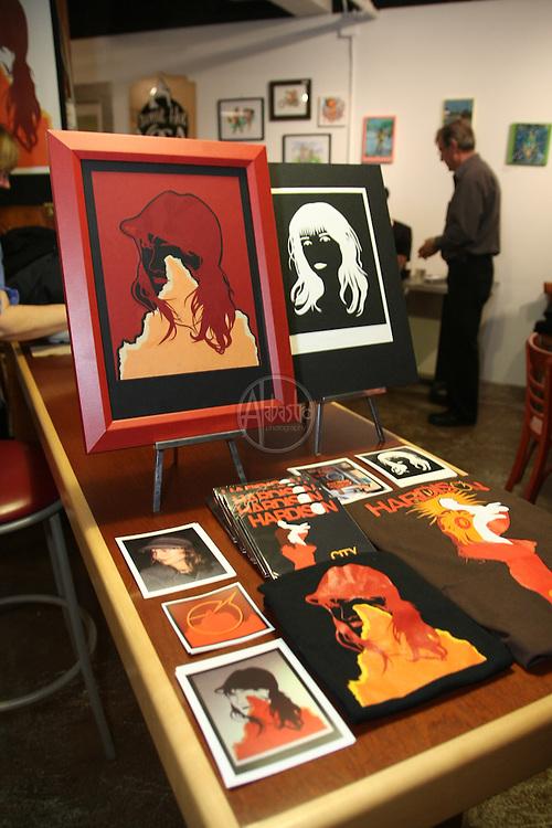 Art Bazaar at Pel'Meni Dumpling Tzar during the Fremont Art Walk.