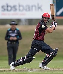 Canterbury's Chad Bowes batting against Otago Volts in the Ford Trophy one-day domestic cricket match at the University of Otago Oval, Dunedin, New Zealand, Saturday, January 27, 2018. Credit:SNPA / Adam Binns ** NO ARCHIVING**