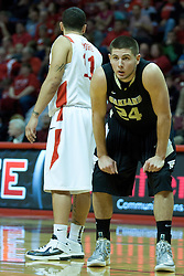 18 February 2012:  Matt Poches during an ESPN Bracketbuster mens basketball game Where the Oakland Golden Grizzlies lost to the Illinois State Redbirds 79-75 in Redbird Arena, Normal IL