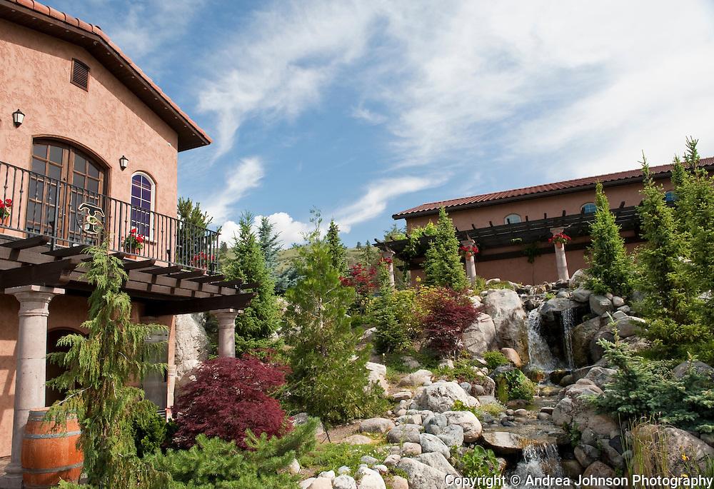Tsillan Cellars Winery and Vineyards overlooking Lake Chelan, Washington