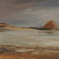 Oil sketches of the Central Coast of California, including Big Sur, Monterey, and Montana de Oro,