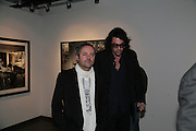 NELLEE HOOPER AND LUKAS WHITE, Helmut Newton XL. Hamiltons. Carlos Place. London. 25 September 2007. -DO NOT ARCHIVE-© Copyright Photograph by Dafydd Jones. 248 Clapham Rd. London SW9 0PZ. Tel 0207 820 0771. www.dafjones.com.