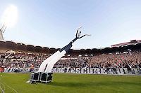 Supporters de Bordeaux - 12.04.2015 - Bordeaux / Marseille - 32eme journee de Ligue 1 <br />Photo : Caroline Blumberg / Icon Sport