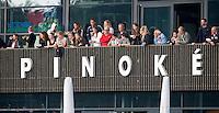 AMSTELVEEN - Clubhuis Pinoke  tijdens de hoofdklasse competitiewedstrijd hockey tussen de heren van Pinoke en Voordaan (3-0). COPYRIGHT KOEN SUYK