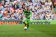 Forest Green's Elliott Frear during the Conference Premier Final match between Forest Green Rovers and Grimsby Town FC at Wembley Stadium, London, England on 15 May 2016. Photo by Shane Healey.
