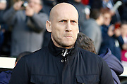 Reading first team manager Jaap Stam during the EFL Sky Bet Championship match between Fulham and Reading at Craven Cottage, London, England on 3 December 2016. Photo by Andy Walter.