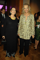 Left to right, LYN ROTHMAN and HRH PRINCESS MICHAEL OF KENT at an auction in aid of The Parkinson's Appeal for Deep Brain Stimulation 'Meeting of Minds' held at Christie's, King Street, London SW1 followed by a dinner at St.John, 26 St.John Street, London on 16th October 2007.<br /><br />NON EXCLUSIVE - WORLD RIGHTS