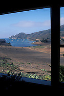 Looking toward Catalina Harbor fron the Banning House Lodge, Two Harbors, Catalina Island, California