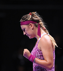22.10.2013, Sinan Erdem Dome, Istanbul, TUR, WTA Tour, TEB BNP Paribas Championchip, im Bild Victoria Azarenka of Belarus // during the WTA TEB BNP Paribas championships at the Sinan Erdem Dome in Istanbul, Turkey on 2013/10/22. EXPA Pictures © 2013, PhotoCredit: EXPA/ Seskimphoto/ Spfc<br /> <br /> *****ATTENTION - for AUT, SLO, SRB, ESP, ITA, SWE, NOR, FIN, NED, USA only*****