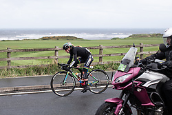 Anna van der Breggen (NED) of Boels-Dolmans Cycling Team approaches Sandsend during the ASDA Tour de Yorkshire Women's Race 2019 - Stage 2, a 132 km road race from Bridlington to Scarborough, United Kingdom on May 4, 2019. Photo by Balint Hamvas/velofocus.com