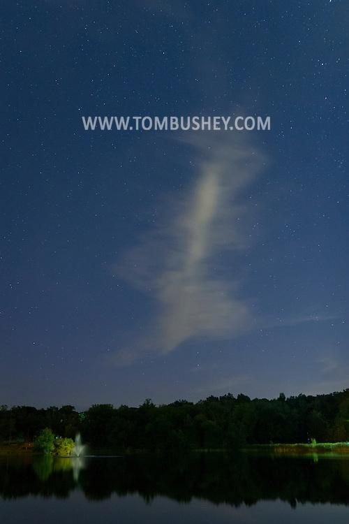 Middletown, New York - Starry skies on Sept. 12, 2014.