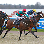 Benzanno and Thomas Brown winning the 4.40 race