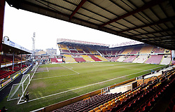 A general view of Valley Parade ahead of the FA Cup 5th Round tie between Bradford City and Sunderland - Photo mandatory by-line: Matt McNulty/JMP - Mobile: 07966 386802 - 15/02/2015 - SPORT - Football - Bradford - Valley Parade - Bradford City v Sunderland - FA Cup - Fifth Round