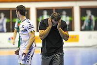 Patrick Cazal  - 04.03.2015 - Nimes / Dunkerque - 17eme journee de Division 1<br />Photo : Andre Delon / Icon Sport