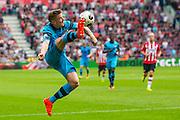 EINDHOVEN - 14-08-2016, PSV - AZ, Philips Stadion, 1-0, AZ speler Mattias Johansson