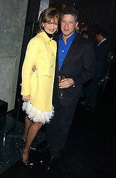 COUNTESS MAYA VON SCHONBURG and PETER SOROS at a party to celebrate the publication of Tatler's Little Black Book 2005 held at the Baglioni Hotel, 60 Hyde Park Gate, London SW7 on 9th November 2005.<br />