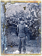 portrait of a French army soldier early 1900s