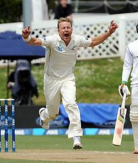 Dunedin-Cricket, New Zealand v Sri Lanka, 1st test, day 5