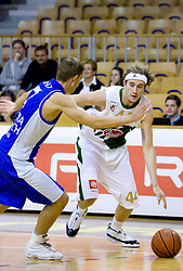Matt Walsh of Olimpija at Superpokal basketball match between KK Union Olimpija and Elektra Esotech, on September 27, 2009, in Arena Tivoli, Ljubljana, Slovenia. Olimpija won 95:62.  (Photo by Vid Ponikvar / Sportida)