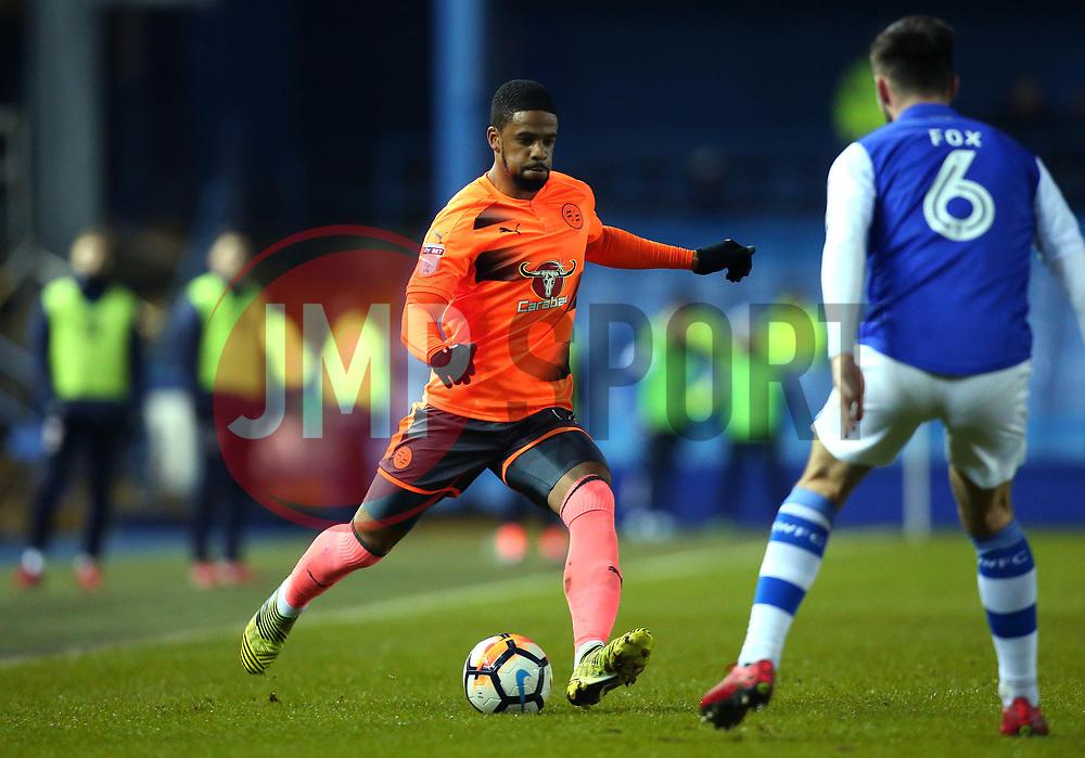 Garath McCleary of Reading - Mandatory by-line: Robbie Stephenson/JMP - 26/01/2018 - FOOTBALL - Hillsborough - Sheffield, England - Sheffield Wednesday v Reading - Emirates FA Cup fourth round proper