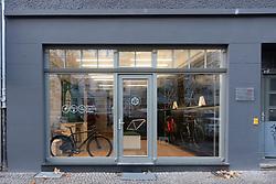 Ampler smart electric bike shop in Mitte Berlin, Germany