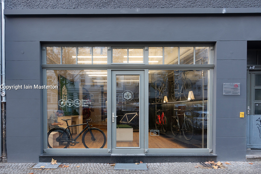 Ampler smart electric bike shop in Mitte Berlin, Germany