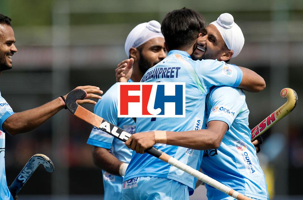 BREDA - Rabobank Hockey Champions Trophy<br /> India - Pakistan<br /> Photo: Mandeep Singh.<br /> COPYRIGHT WORLDSPORTPICS FRANK UIJLENBROEK