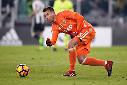 08.01.2017, Juventus Stadium, Turin, ITA, Serie A, Juventus Turin vs FC Bologna, 19. Runde, im Bild Neto Murara Norberto (Juventus F.C.) // Neto Murara Norberto (Juventus F.C.), during the Italian Serie A 19th round match between Juventus Turin and Bologna FC at the Juventus Stadium in Turin, Italy on 2017/01/08. EXPA Pictures © 2017, PhotoCredit: EXPA/ laPresse/ Fabio Ferrari<br /> <br /> *****ATTENTION - for AUT, SUI, CRO, SLO only*****
