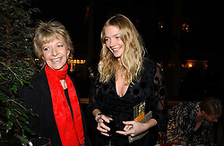 Left to right, WENDY KIDD and her daughter model JODIE KIDD at the Holders Season Barbados Comes to London night at the Landmark Hotel, Marylebone Rd, London on 1st February 2007.<br /><br />NON EXCLUSIVE - WORLD RIGHTS