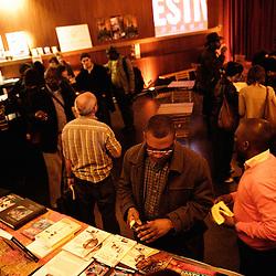au theatre Moliere. Festival des cinemas Africains a Ixelles, près de Bruxelles. 3 mars 2009. Photo : Antoine Doyen
