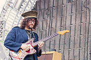 Sean Lennon, The GOASTT, The Ghost of a Saber Tooth Tiger, live at Nelsonville Music Festival 2011, concert photography by Akron music photographer, Cleveland music photographer Mara Robinson