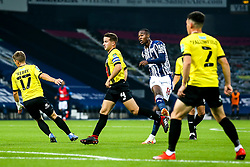Rekeem Harper of West Bromwich Albion scores a goal to make it 1-0 - Mandatory by-line: Robbie Stephenson/JMP - 16/09/2020 - FOOTBALL - The Hawthorns - West Bromwich, England - West Bromwich Albion v Harrogate Town - Carabao Cup