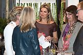 Koningin Maxima bezoekt netwerkbijeenkomst  'Guts and Glory'