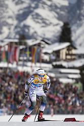 February 21, 2019 - Seefeld In Tirol, AUSTRIA - 190221 Hanna Falk of Sweden competes in women's cross-country skiing sprint qualification during the FIS Nordic World Ski Championships on February 21, 2019 in Seefeld in Tirol..Photo: Joel Marklund / BILDBYRÃ…N / kod JM / 87879 (Credit Image: © Joel Marklund/Bildbyran via ZUMA Press)