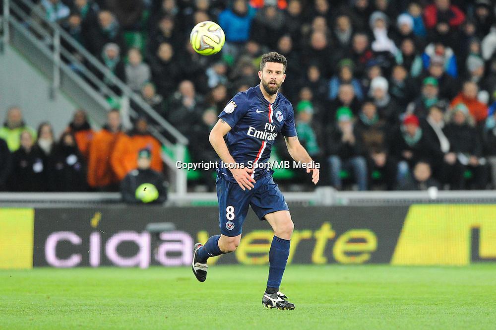 Thiago MOTTA - 25.01.2015 - Saint Etienne / PSG - 22eme journee de Ligue1<br /> Photo : Jean Paul Thomas / Icon Sport