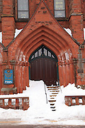St. Anne's Church was built in 1900 for the French Canadian Catholics living in what was an amazingly diverse population that had assembled in Calumet, Michigan, to participate in the copper mining industry. It is, in a word, magnificent. It is one of the multitude of churches in the Calumet and Laurium area. It was deconsecrated by the Catholic Church nearly 50 years ago, and for a long while, its future was in doubt. Thankfully, the building is now being provided the care it requires and deserves, and it lives on as the Keweenaw Heritage Center at St. Anne's. This masterpiece of architectural heritage deserves a gallery all of its own (perhaps I'll pursue that in the near future).