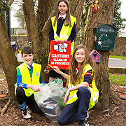 04.04.2017         <br /> Getting in an early start for TLC3 at the Mill Road Corbally were, Lara and Ava O'Sullivan Riordan and Sam Duggan. Picture: Michael Andrews