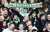 01/02/15 SCOTTISH LEAGUE CUP SEMI-FINAL<br /> CELTIC v RANGERS<br /> HAMPDEN - GLASGOW<br /> Celtic fans