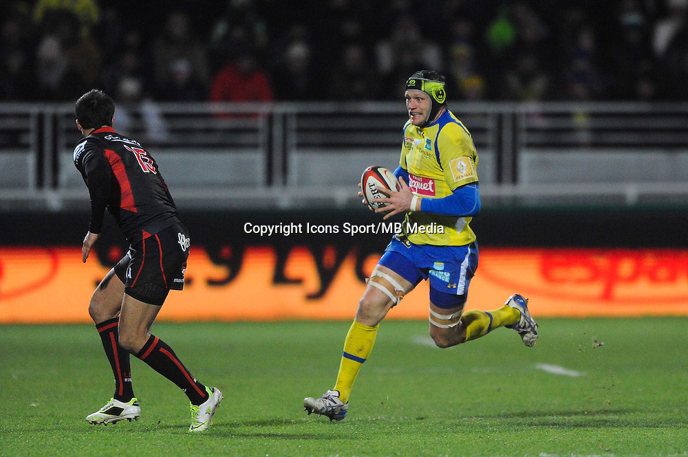 Julien Bonnaire - 28.12.2014 - Lyon Olympique / Clermont - 14eme journee de Top 14 <br />Photo : Jean Paul Thomas / Icon Sport