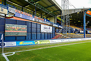 A banner around the stadium ahead of the EFL Sky Bet League 1 match between Luton Town and Oxford United at Kenilworth Road, Luton, England on 4 May 2019.