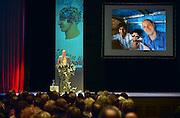 Nederland, Nijmegen, 7-3-2014Het boekenfeest is de Nijmeegse versie van het boekenbal. Georganiseerd door de wintertuin in concertgebouw de Vereeniging. Hoofdgasten dit jaar waren Dimitri Verhuslst, Tjitske Jansen en Jelle Brandt Corstius.Foto: Flip Franssen/Hollandse Hoogte