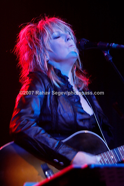 Lucinda Williams performing at The Fillmore East at Irving Plaza on September 29, 2007. ..
