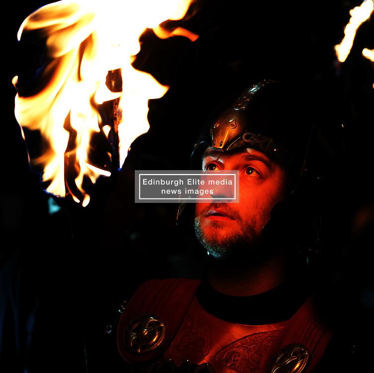 EDINBURGH'S HOGMANAY TORCHLIGHT PROCESSION, Friday 30th December 2016<br /> <br /> Vikings prepare for the torchlight procession to Calton Hill, Edinburgh<br /> <br /> (c) Alex Todd   Edinburgh Elite media