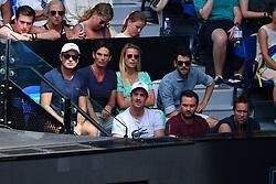 January 27, 2019 - Melbourne, AUSTRALIA - Pierre Hugues Herbert and Nicolas Mahut wins double championship at the Australian Open (Credit Image: © Panoramic via ZUMA Press)