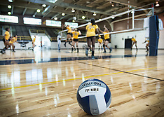 2013 A&T Volleyball Fall Camp (Practice)