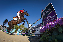 Ahlmann Christian (GER) - Codex One<br /> Final First Competition<br /> Furusiyya FEI Nations Cup™ Final - Barcelona 2014<br /> © Dirk Caremans<br /> 09/10/14