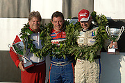 U.I.M Formula One (F1) Worldchampionship 2006, Qatar Grand Prix, at Doha, on 15 April, 2006.  Ivan Brigada (center), Scott Gillman (left), and Philippe Dessertenne (right), placed 1st - 3rd (respectively). (Photo/Lance Cheung)..PHOTO COPYRIGHT 2006 LANCE CHEUNG.This photograph is NOT within the public domain..This photograph is not to downloaded, stored, manipulated, printed or distributed with out the written permission from the photographer. .This photograph (on this web site) is protected under domestic and international laws.
